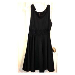 Dresses & Skirts - Black Sleeveless Princess Dress w/ Lace